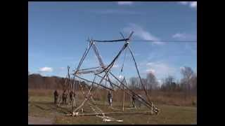 Boy Scouts Of America Pioneering Tower Building, Troop And Crew 272 Build A Big One