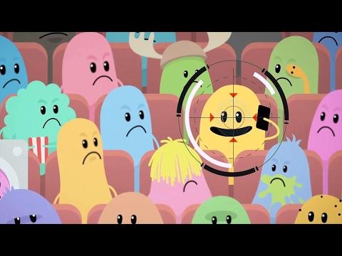 Dumb Ways To Die Vs SpongeBob's Game Frenzy! - Movie Theater Rule    Nickelodeon Kids Games