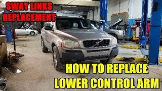 How to Replace Lower Control Arm/Ball Joint & Sway Links 2003-2014