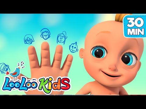 LooLoo – The Finger Family – Nursery Rhymes for Kids | LooLoo KIDS – Cantece pentru copii in limba engleza