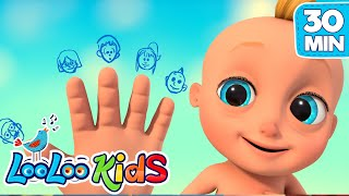 The Finger Family - Nursery Rhymes for Kids | LooLoo KIDS