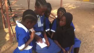 The Gambia: students book authoring by Our Global School for Queens Park Book Festival