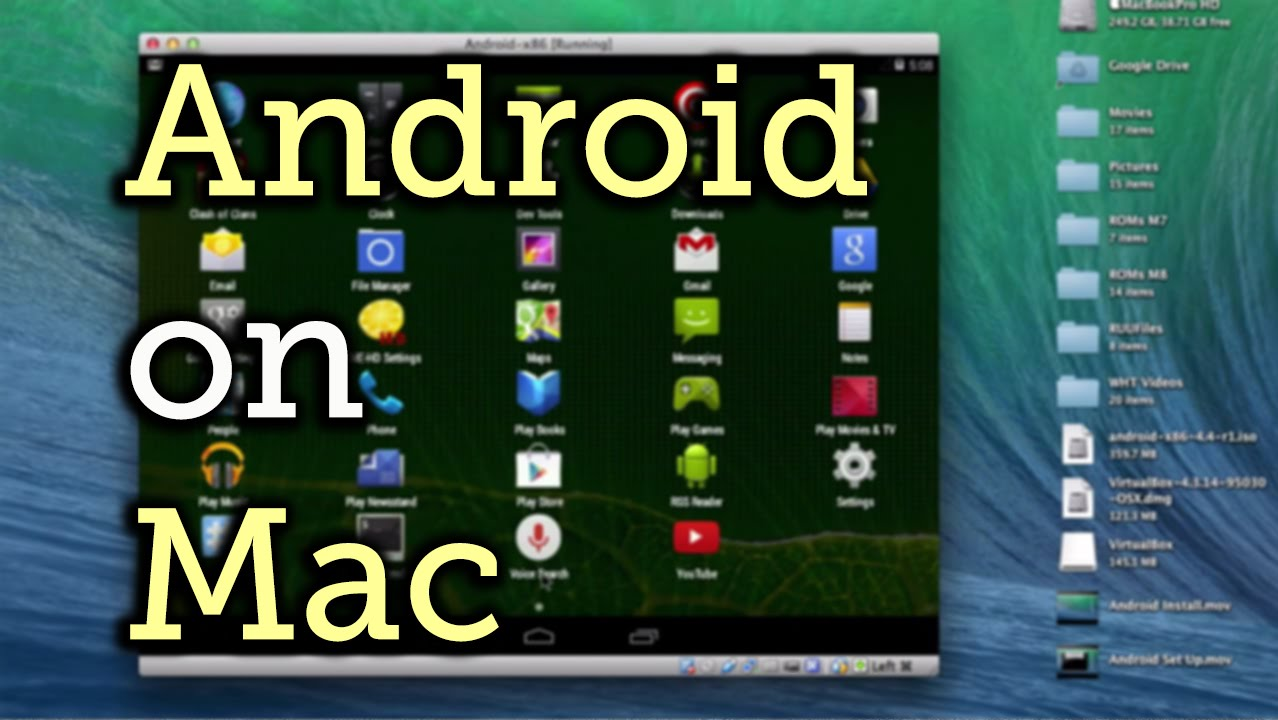 Run Any Android App on Your Mac « Mac Tips :: Gadget Hacks