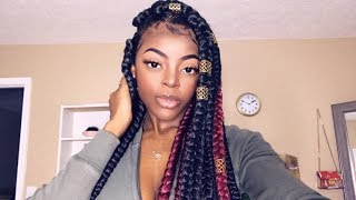 How To EASILY Make A PERFECT Box Braid Wig! BEGINNER FRIENDLY!