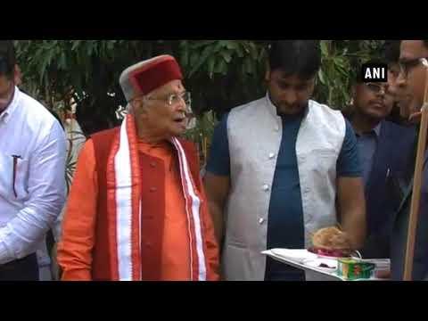 Watch: Senior BJP leader Murli Manohar Joshi scolds official at an event