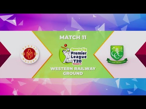 SPLT20 Season 2  |  Match 11  |  Crackers Cricket Club Vs Bombay Mohurs