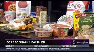 Ideas to Snack Healthier (9/14/16 on KARE 11)
