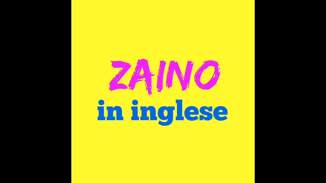 Zaino in inglese come si dice come si scrive come si pronuncia youtube - Come si dice bagno in inglese ...
