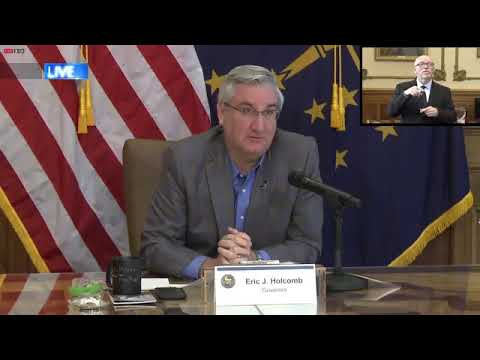 Gov. Holcomb Provides April 27 Update On COVID-19 Fight