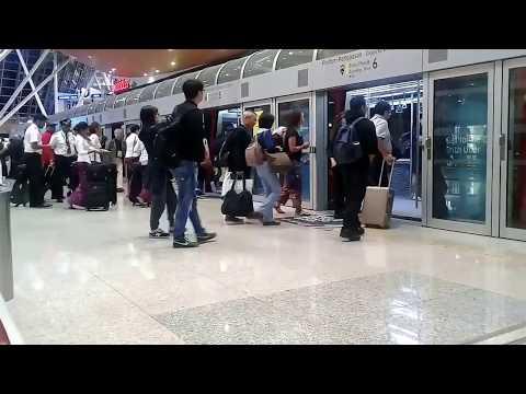 Electric Train in Malaysia Airport