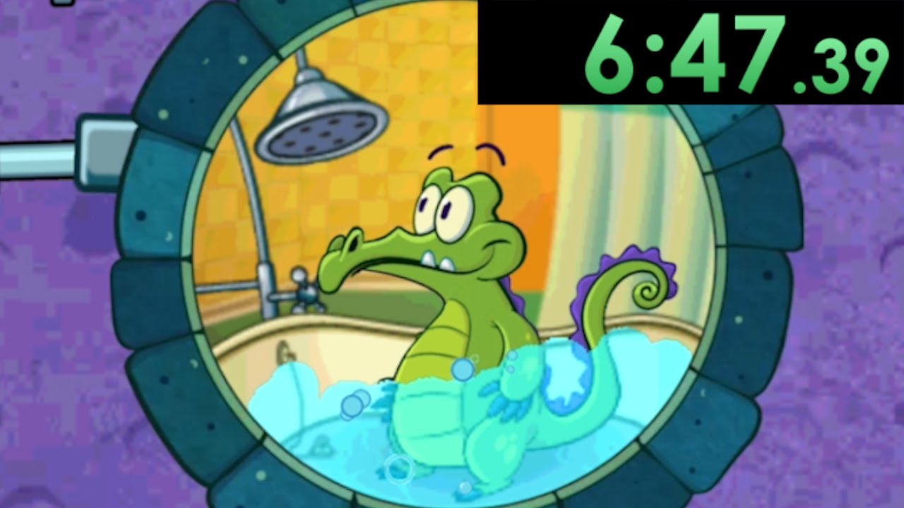 I tried speedrunning Where's My Water 2 and used the smartest solutions to go as fast as possible
