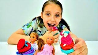 Видео для девочек - Мороженое для Штеффи - Игры в куклы