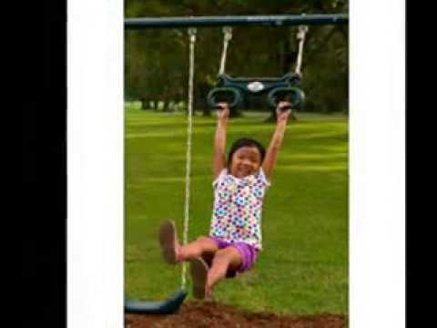 Flexible Flyer Backyard Fun Swing Set With Plays Reviews|Kids OutdoorToys