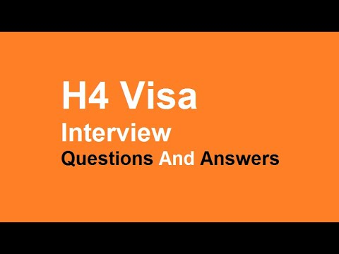 Documents Required For H4 Visa Stamping 2019