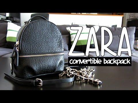 a closer look: Zara convertible backpack | fromkaren