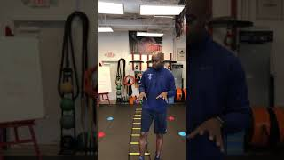 Speed and Agility ladder for Boxing Training!