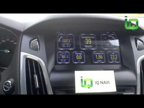 OBD II адаптер и Torque на автомагнитоле IQ NAVI