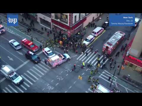 Explosion in New York injures four