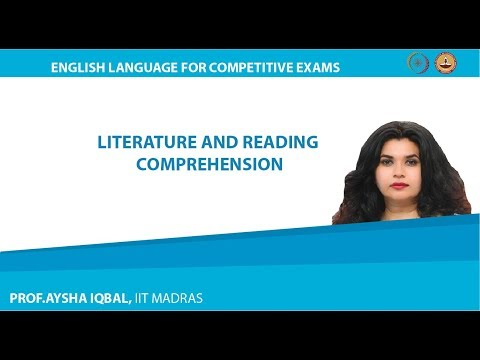 Module One - Lecture 02 - Literature and Reading Comprehension