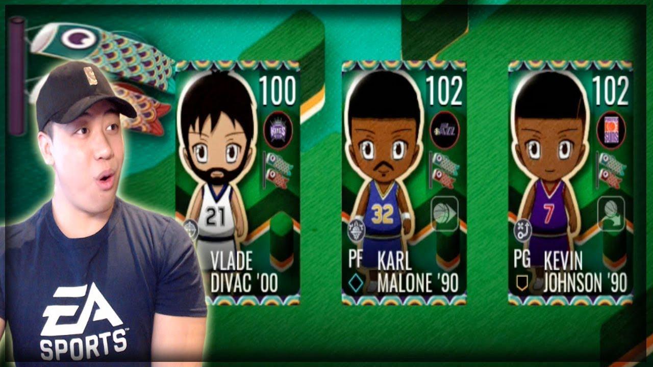100 OVR GOLDEN WEEK MASTERS!! NBA LIVE MOBILE GOLDEN WEEK PROMO!!