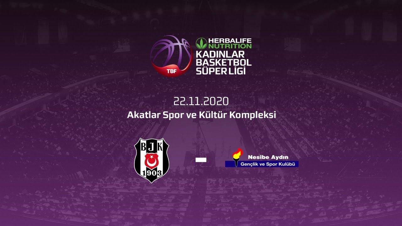 Beşiktaş HDI Sigorta – Nesibe Aydın Herbalife Nutrition KBSL 9.Hafta