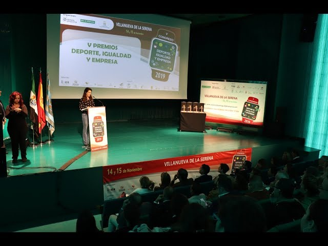 """V Premios """"Deporte, Igualdad y Empresa"""""""