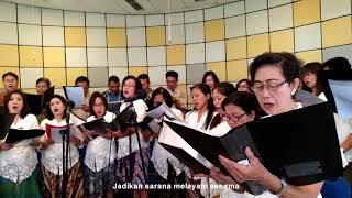 Kidung Persembahan - Misa Sakramen Krisma Gereja ST Ambrosius