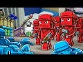 Roblox | RED VS BLUE CITY WARS - All Out War! (Tanks, Helicopters, Soldiers)