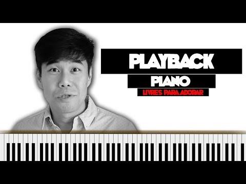 LINDO ÉS + SÓ QUERO VER VOCÊ (PLAYBACK - PIANO)