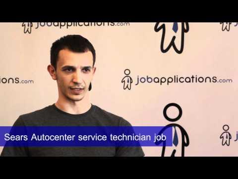 Sears Auto Center Interview - Service Technician