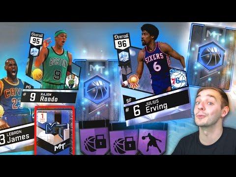 NBA 2K17 My Team TWO NEW DIAMOND PICKUPS! SUPER RARE CARD!