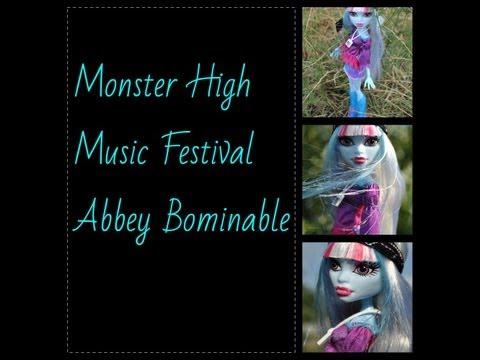 Monster High Music Festival Abbey Bominable обзор на русском