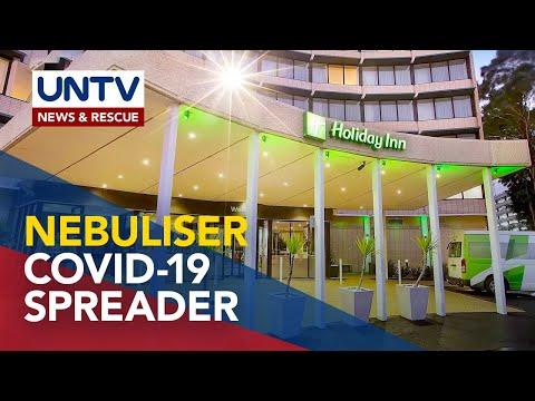 Nebuliser, posibleng sanhi ng pagkalat ng COVID-19 sa isang hotel sa Australia