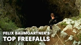 Repeat youtube video Felix Baumgartner's Top Freefalls