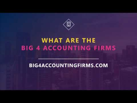 Who are the big four? (Deloitte, PwC, EY & KPMG)