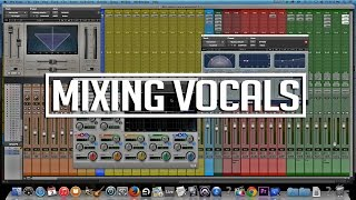 How to mix a Punjabi song | Mixing vocals [Pro Tools]