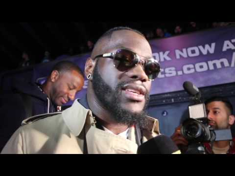 DEONTAY WILDER - 'THE FIGHT I WANT IS ANTHONY JOSHUA' / SAYS TYSON FURY IS 'GOOD FOR THE SPORT'