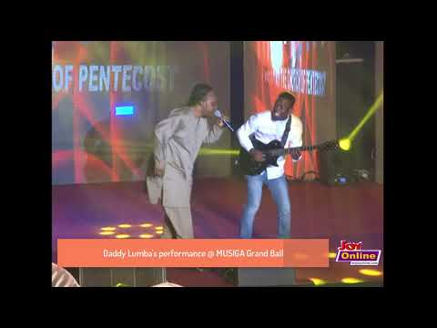 Daddy Lumba's performance @ MUSIGA Grand Ball