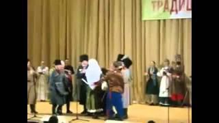 Казацкая Лезгинка с казацкими шашками))