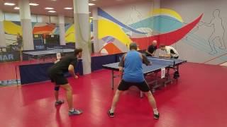 Парный турнир по настольному теннису в КНТ Таймаут 22.10.16