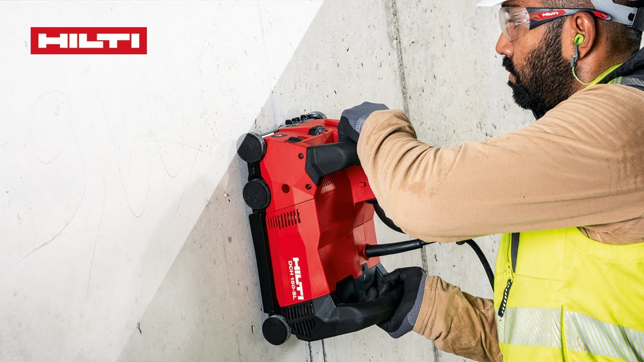 OUT NOW - The New Hilti DCH 150-SL Wall Chaser