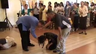Pentecostals of Mabalacat Altar Call Part 2.flv