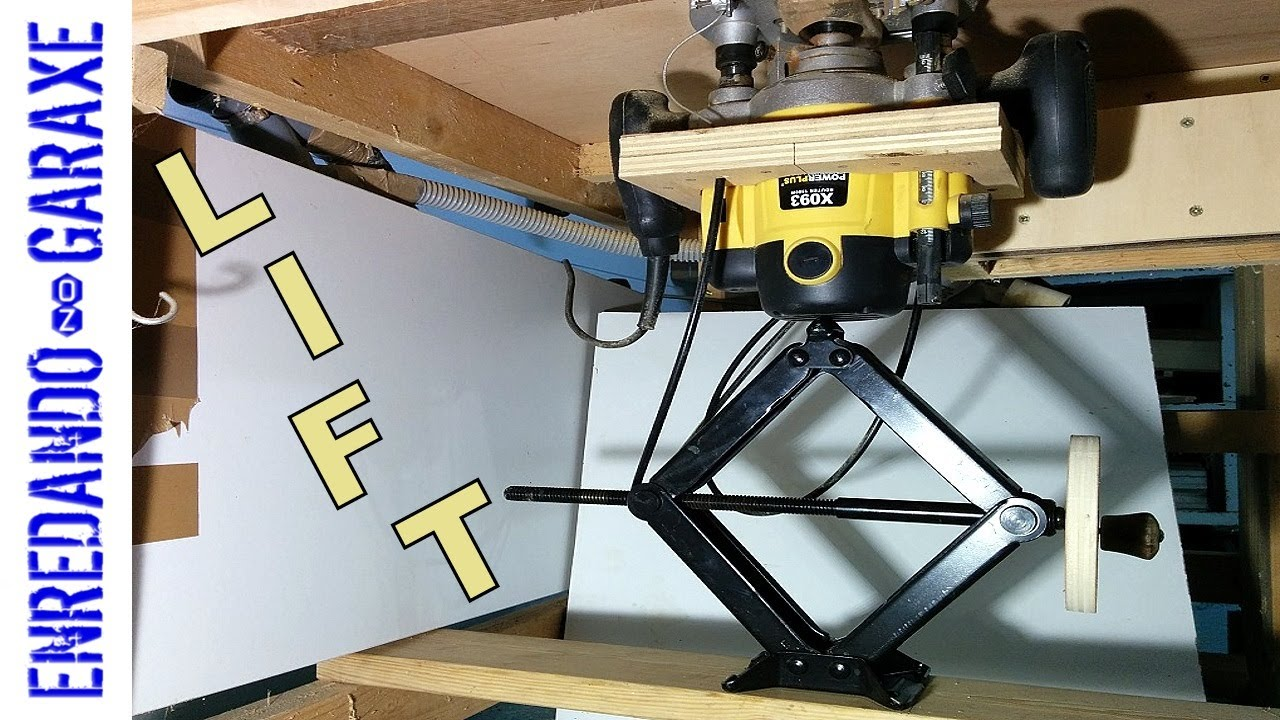 The simplest router table lift youtube the simplest router table lift keyboard keysfo Images