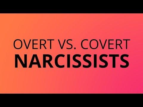 Overt Vs Covert Narcissists