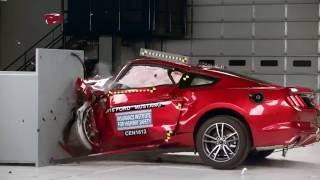 iihs muscle car crash test explanation