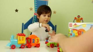 Поезд Считай и играй! Lego Duplo