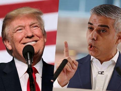 "Tiba di Inggris, Trump Balas Walikota London yang Mengejeknya ""Fasis Abad ke-20"""