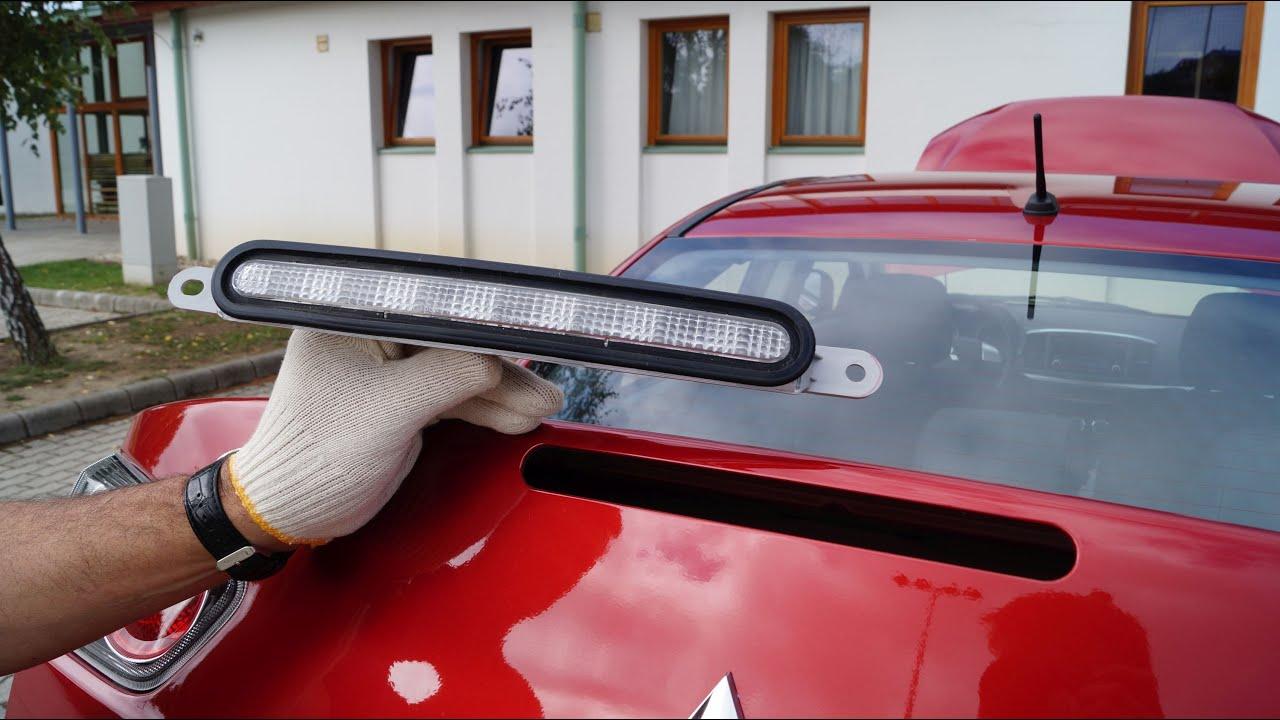 Mitsubishi Lancer  Brake Light Replacement  YouTube