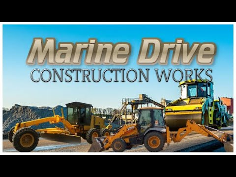 Marine Drive Colombo - Extension Works - Highway Construction
