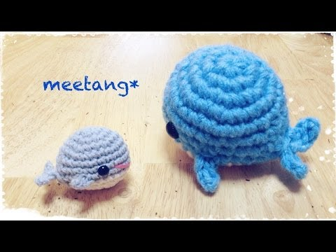 Tutorial Amigurumi Ballena : How to crochet a whale ???????